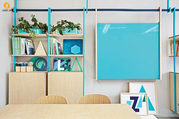 طراحی داخلی آموزشگاه زبان