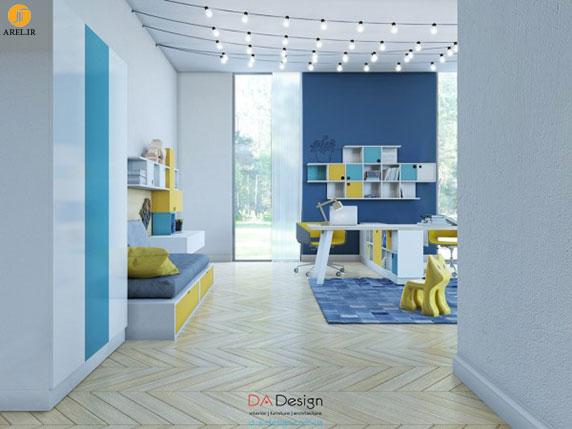 4 نمونه دکوراسیون داخلی اتاق کودک