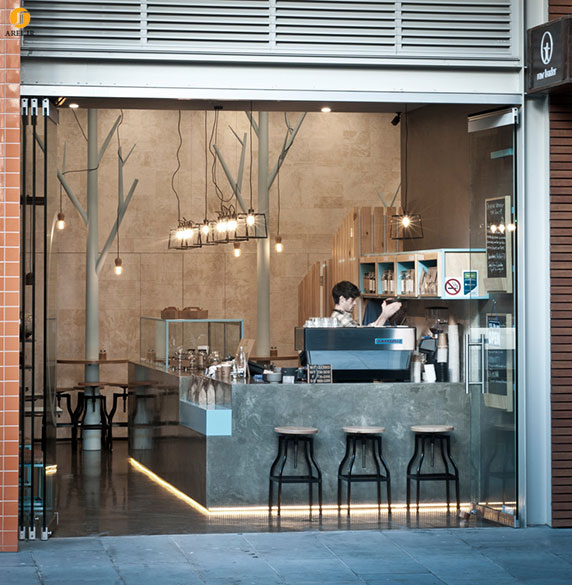 20 Small Home Bar Ideas And Space Savvy Designs: طراحی داخلی کافی شاپ گیاهخواران