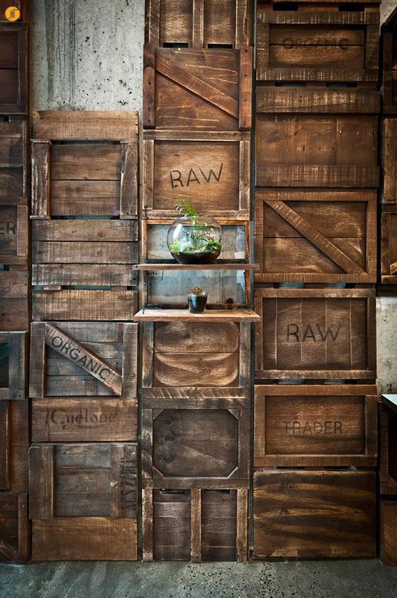 طراحی داخلی کافی شاپ گیاهخواران