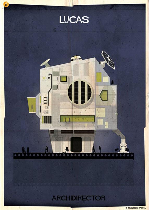 فدریکو بابینا : ARCHIDIRECTOR - اگر کارگردانان مطرح دنیا معمار بودند