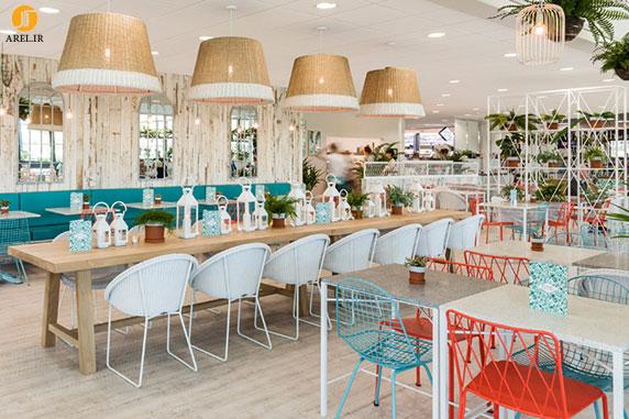 گروه تلگرام شیرینی پزی طراحی داخلی رستوران گیاهی | آرل
