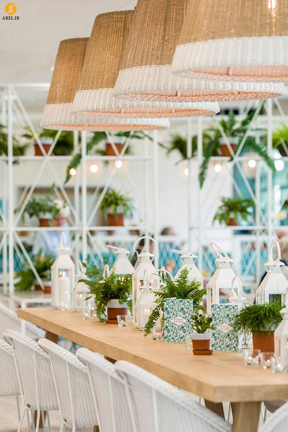 طراحی داخلی رستوران گیاهی
