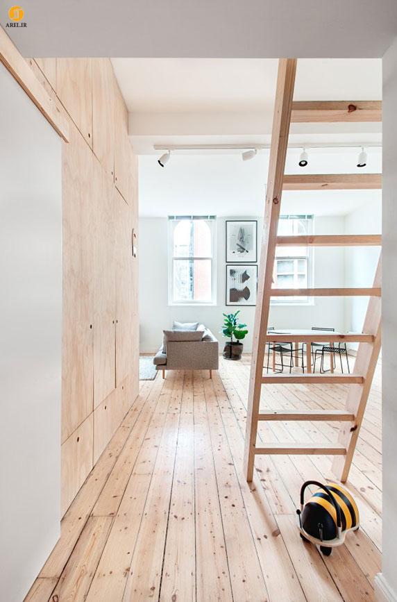 طراحی داخلی 2 آپارتمان کوچک به سبک مینیمال ژاپنی