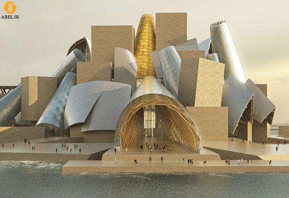 معماري پرش كيهاني،غير خطي