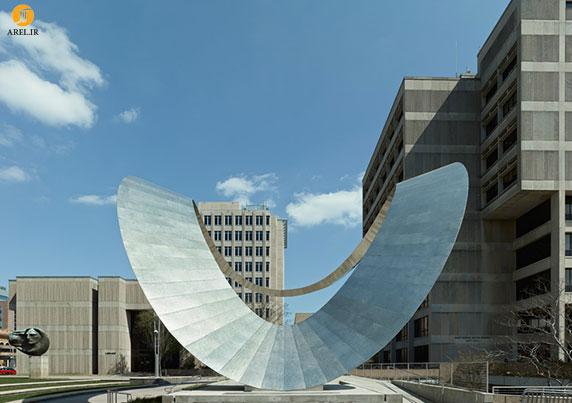 معماری منومان شهری به شکل تاج