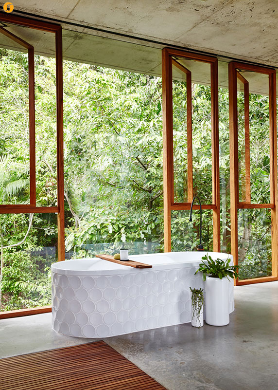 طراحی و معماری ویلا ی گرمسیری