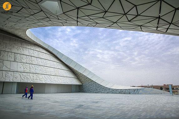 معماری مسجد،معماری مسجد دانشگاه قطر