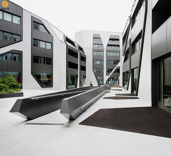 طراحی و معماری مجموعه ی sonnenhof