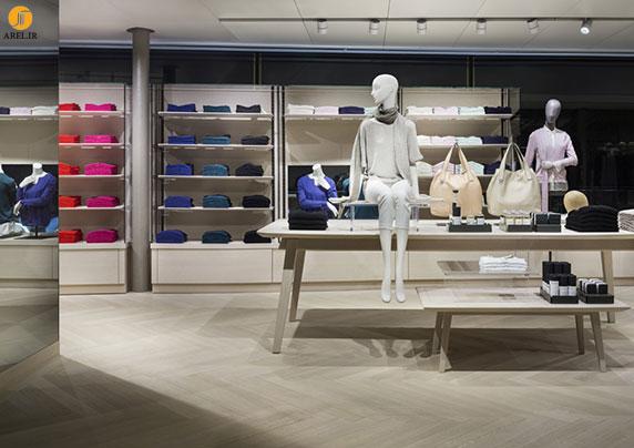 طراحی داخلی فروشگاه تجاری برند modissa