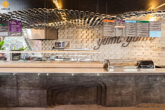 طراحی داخلی رستوران Yumi Yumi