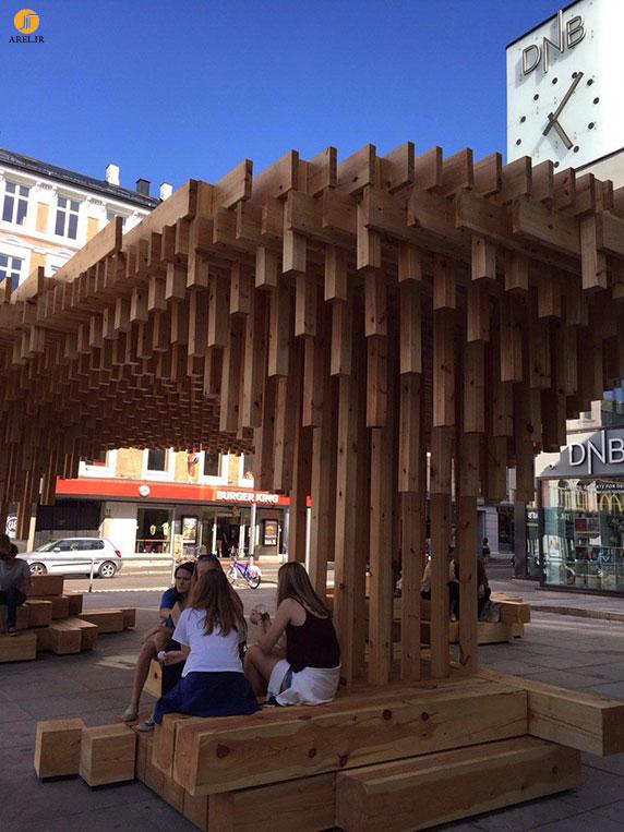 گزارش آرل : پروژه طراحی workshop  قطعات چوبی در اسلو، نروژ