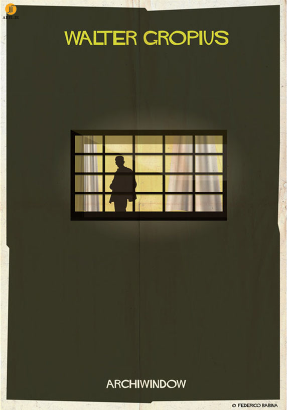 فدریکو بابینا : ARCHIWINDOW - طراحی پنجره به سبک معماران معروف دنیا