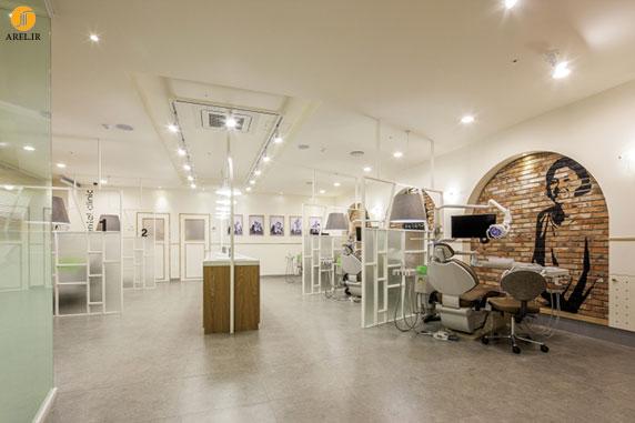 چند نمونه دکوراسیون داخلی کلینیک دندانپزشکی