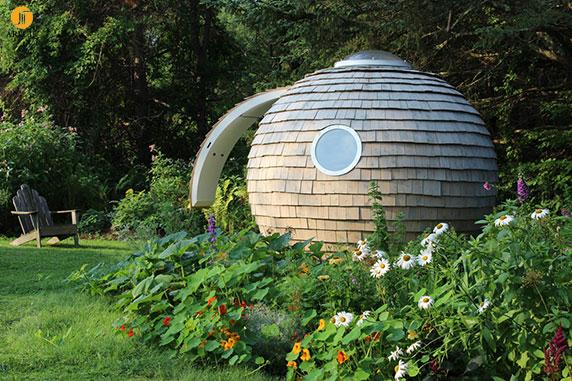 طراحی خانه بر اساس معماری پایدار و دوستدار محیط زیست