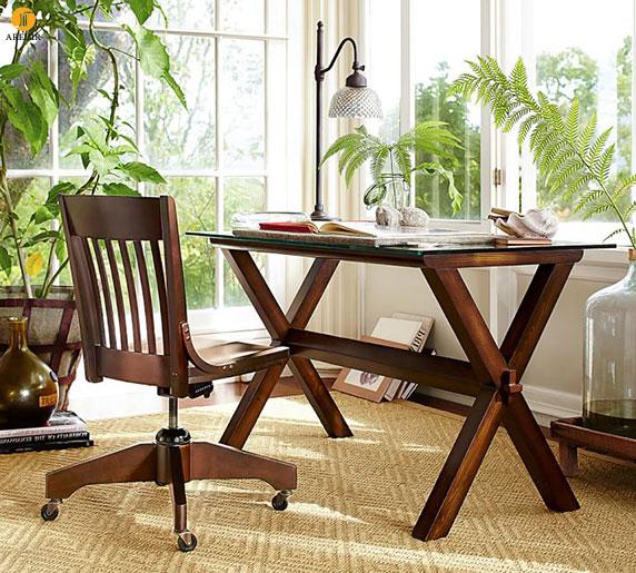 چند نمونه طراحی میز کامپیوتر مدرن برای دکوراسیون داخلی اتاق