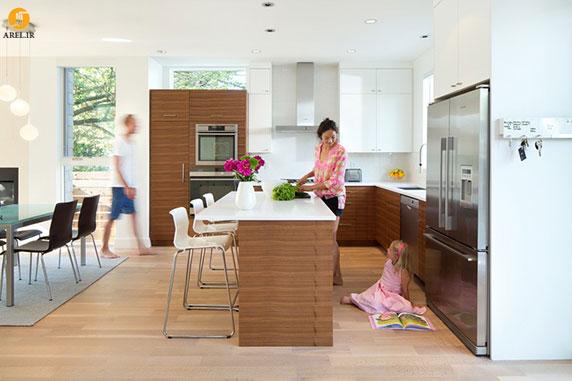 25 نمونه دکوراسیون داخلی آشپزخانه اپن