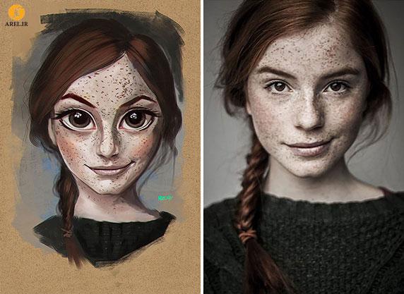 قسمت اول : تبدیل عکس های مردم به تصاویر کارتونی با نرم افزار Illustrator