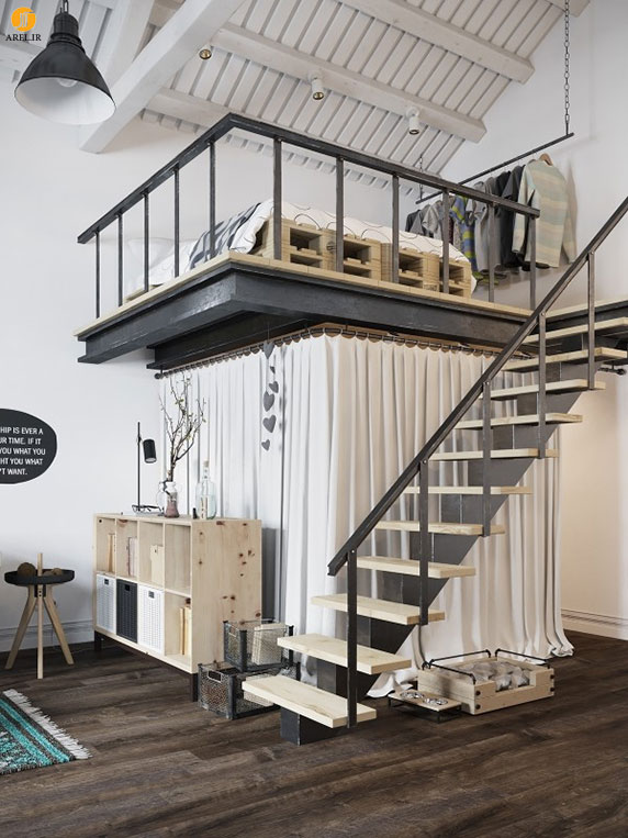 طراحی و دکوراسیون داخلی آپارتمان به سبک اسکاندیناوی