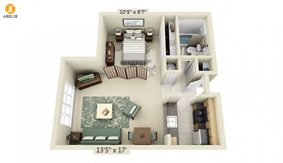 Efficiency Apartment Floor Plan Apartment Floor Plans And Studio Cool Layout Ideas