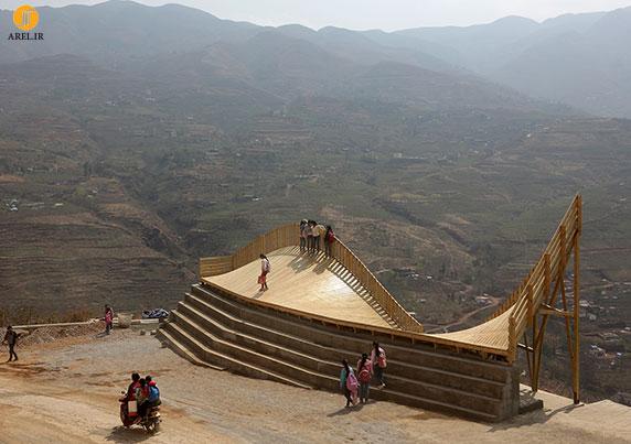 معماری پل چوبی در طراحی شهری