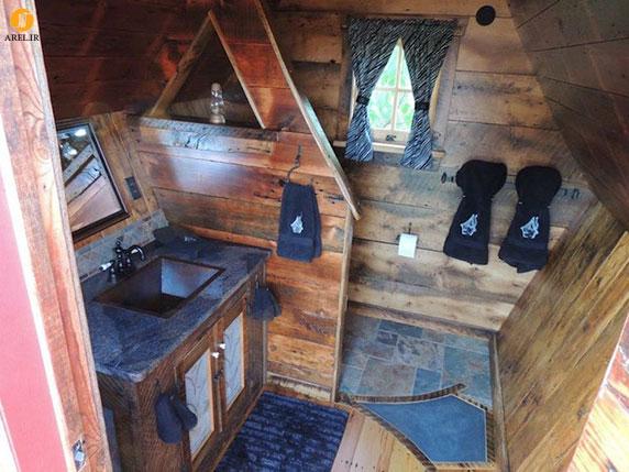طراحی کلبه های کوچک چوبی