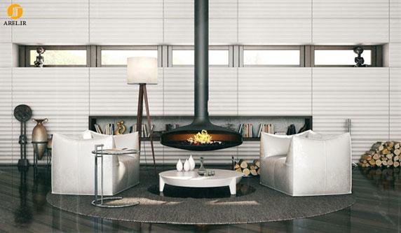 چند نمونه طراحی دیوار مدرن برای دکوراسیون داخلی منزل