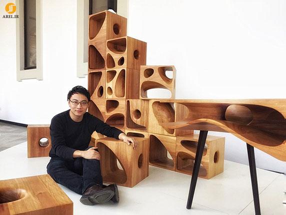 طراحی خانه های چوبی برای گربه ها