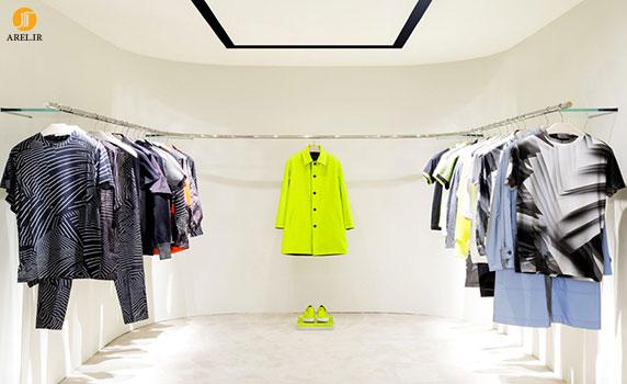 طراحی داخلی فروشگاه christopher kane در لندن