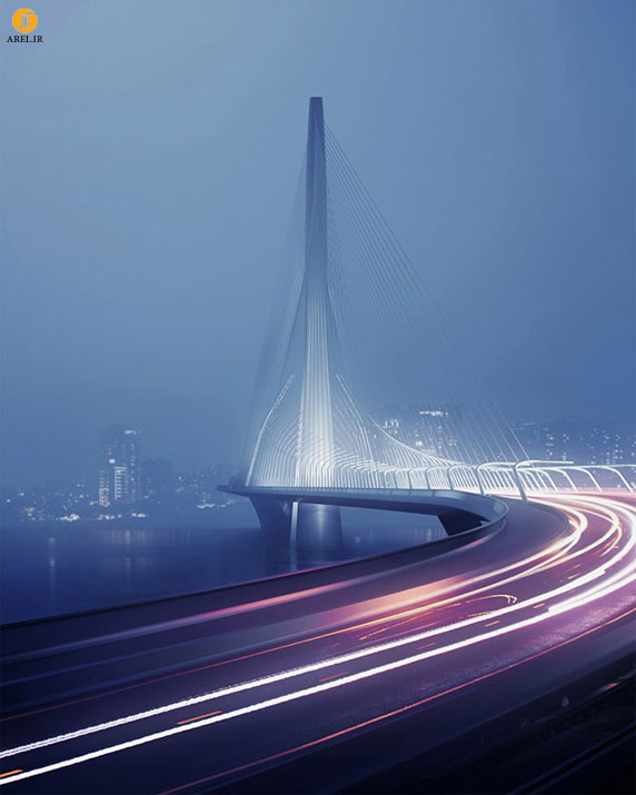 طراحی جدید زاها حدید : پل تایپه، تایوان