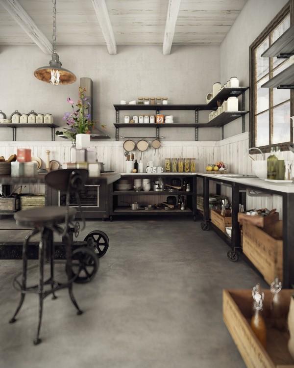 طراحی داخلی سه خانه با سبک محلی (روستایی)