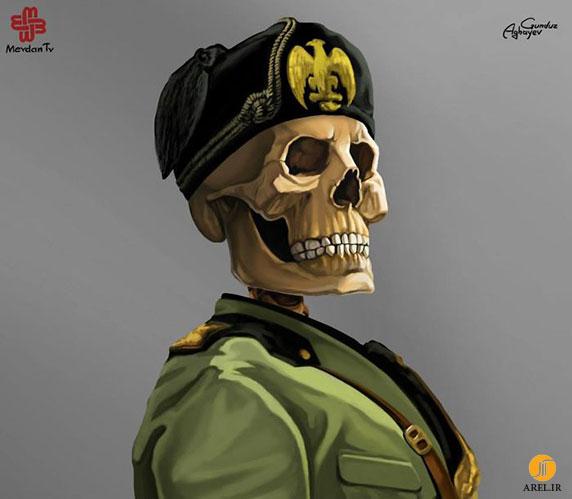 پرتره ای از رهبران مشهور جهان توسط نقاش معروف Gunduz Agayev