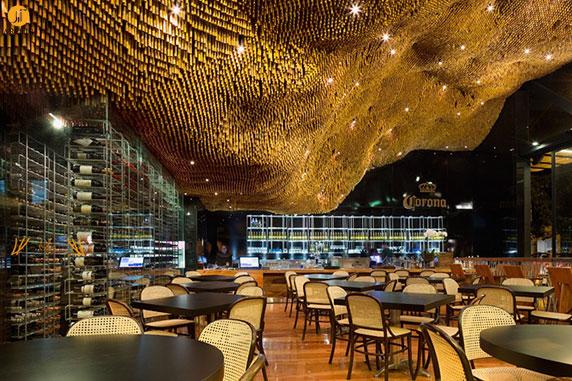 طراحی و دکوراسیون داخلی رستوران اُلگانور