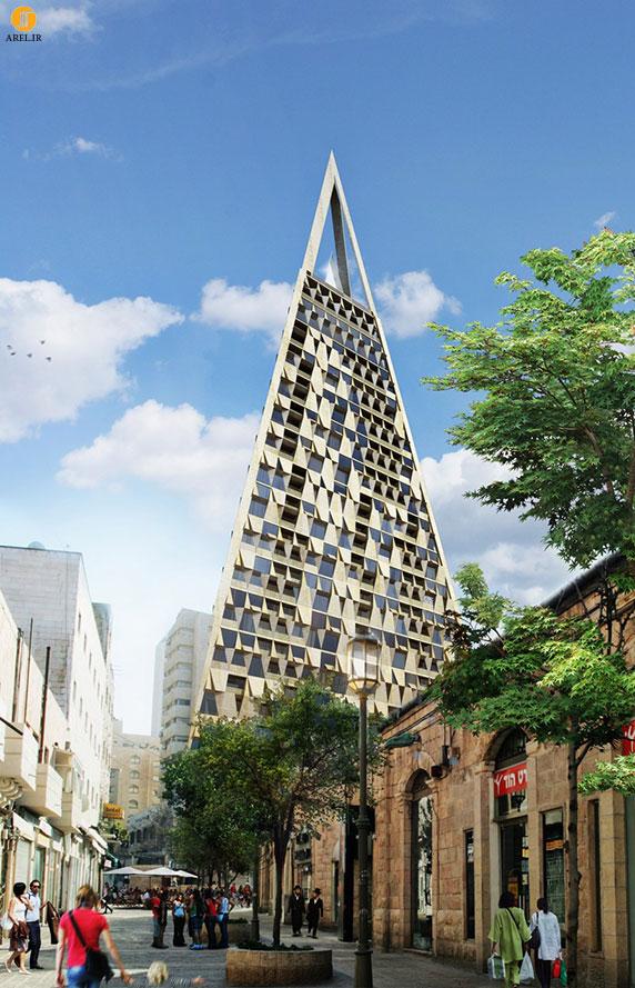 برج هرمی دنیل لیبسکیند