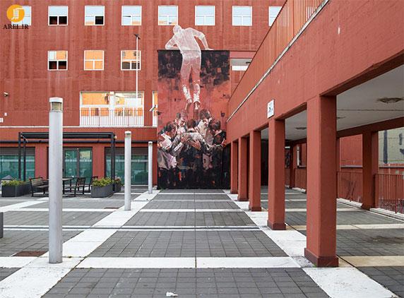 طراحی مجسمه یادبود برای دانشگاه میلان
