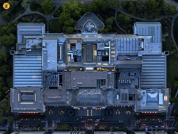 دیافراگم : عکاسی هوایی از ساختمان های شهر های نیویورک و لس آنجلس
