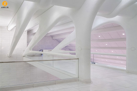 طراحی و معماری مرکز حمل و نقل نیویورک توسط سانتیاگو کالاتراوا
