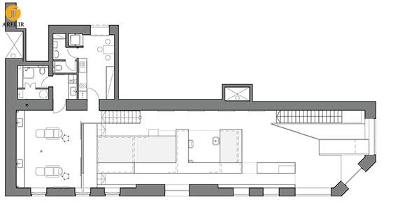 طراحی و دکوراسیون داخلی آرایشگاه