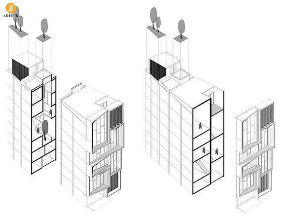 طراحی و بازسازی ساختمان مسکونی در تایلند