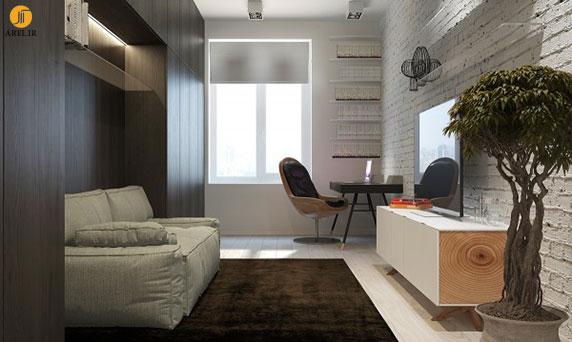دکوراسیون داخلی 5 آپارتمان با رنگ های خنثی