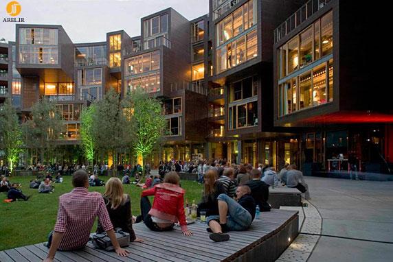 7 نمونه طراحی و معماری جالب خوابگاه دانشجویی