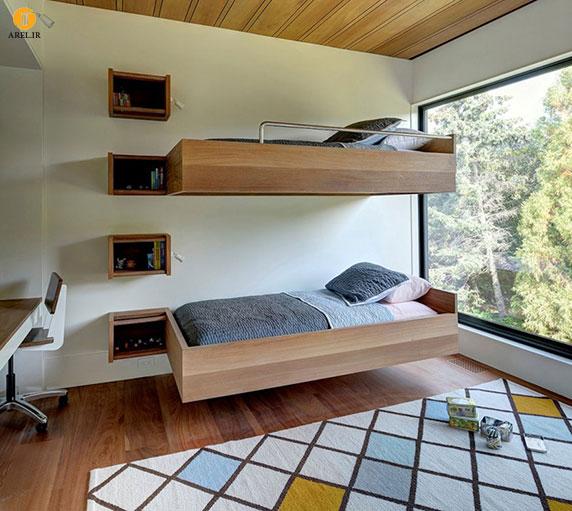 امروز در دکو آرل : چند ایده برای طراحی تخت خواب های 2 یا چند طبقه