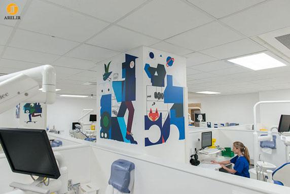 طراحی داخلی کلینیک دندان پزشکی