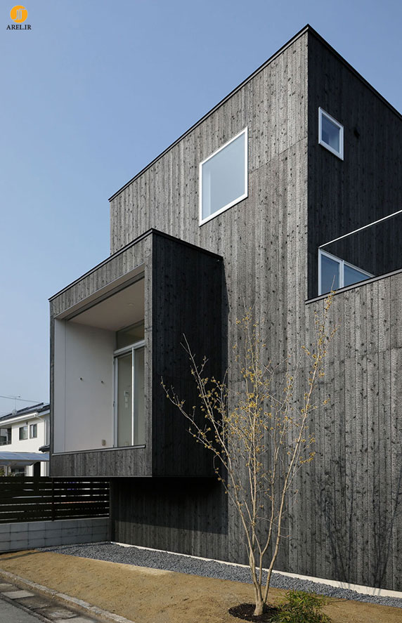 طراحی و معماری داخلی خانه ای در توکیو