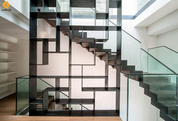 طراحی و دکوراسیون داخلی خانه ای لوکس توسط موشه سفدی
