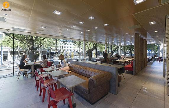 طراحی و معماری ساختمان جدید رستوران مک دونالد