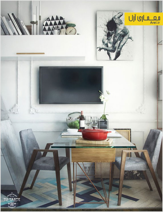 4 مورد طراحی داخلی خانه های کوچک با اتاق های زیر شیروانی