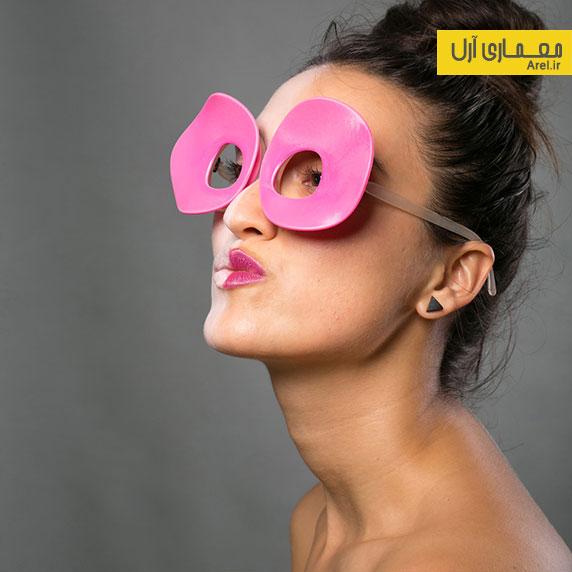 طراحی عینک های خلاقانه توسط معمار ایرانی: نسیم صحت