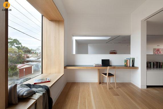 طراحی جزئی : 7 نمونه طراحی کاناپه برای جلوی فضای پنجره