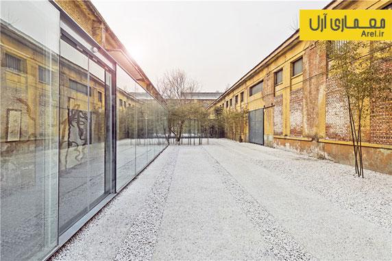طراحی و معماری داخلی موزه هنرهای معاصر چین در ساختمان قدیمی یک کارخانه